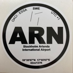 ARN - Stockholm - Suède