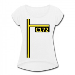 T-Shirt Women C172 (rolled...