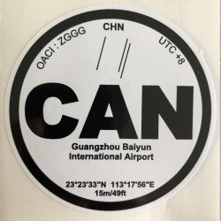 CAN - Canton - Chine