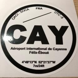 CAY - Cayenne - Guyane