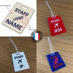 Staff Tag 3D