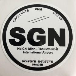 SGN - Ho Chi Minh - Vietnam
