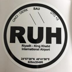 RUH - Riyadh - Saudi Arabia