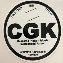 CGK - Jakarta - Indonésie
