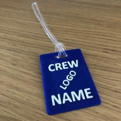 Crew Tag 3D - Blue