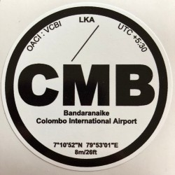CMB - Colombo - Sri Lanka