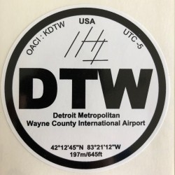 DTW - Détroit - USA