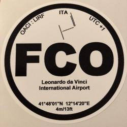 FCO - Rome - Italie