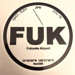 FUK - Fukuoka - Japon