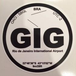 GIG - Rio de Janeiro - Brésil