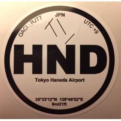 HND - Tokyo Haneda - Japon
