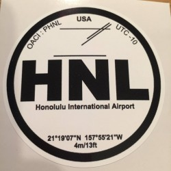 HNL - Honolulu - Hawaï - USA