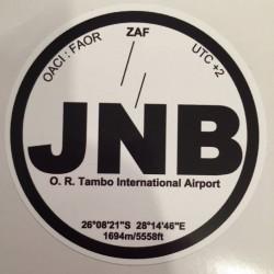 JNB - Johannesbourg -...