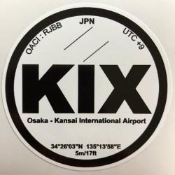 KIX - Osaka - Japon