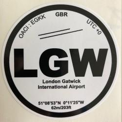 LGW - Londres Gatwick -...