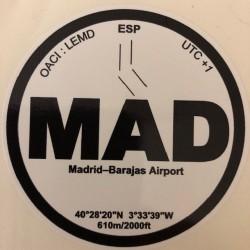 MAD - Madrid - Espagne