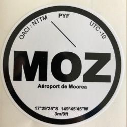 MOZ - Moorea - Polynésie...