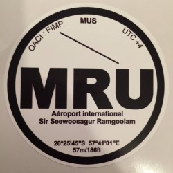 MRU - Maurice - Ile Maurice
