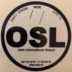 OSL - Oslo - Norvège