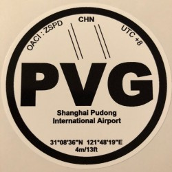 PVG - Shanghai Pudong - Chine