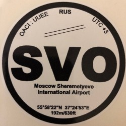 SVO - Moscou - Russie