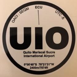 UIO - Quito - Equateur
