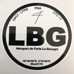 LBG - Paris Le Bourget -...