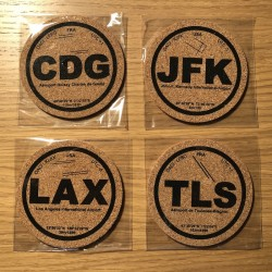4 Coasters of your choice...