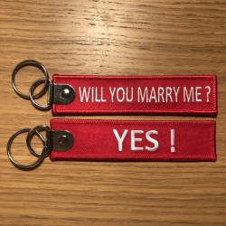 Will you marry me ? YES !