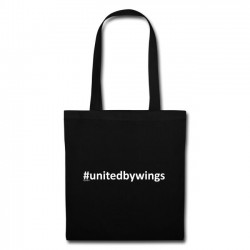 Tote Bag UnitedByWings white