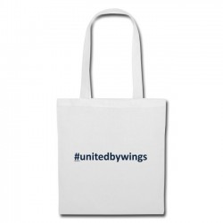 Tote Bag UnitedByWings blue