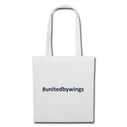 Tote Bag UnitedByWings blue