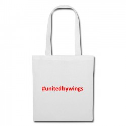 Tote Bag UnitedByWings red
