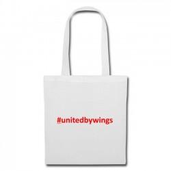 Tote Bag UnitedByWings red