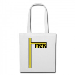 Tote Bag B747
